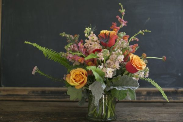 Medium Arrangement, table top flowers