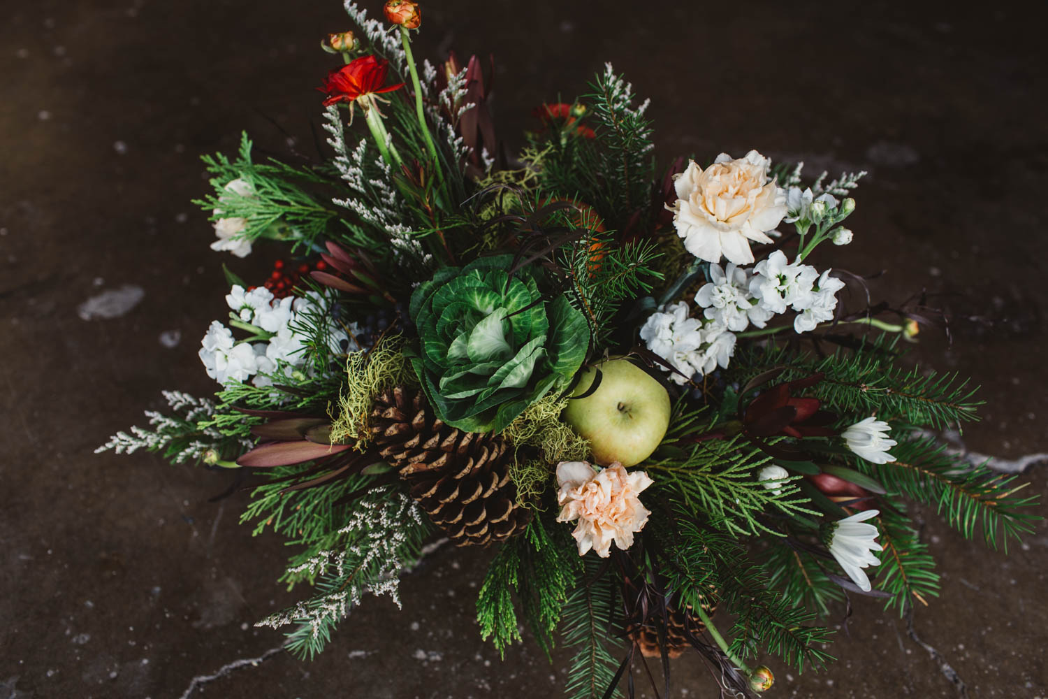bring some holiday cheer to your Christmas parties with a beautiful Christmas arrangement